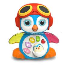 Brinquedo bonito do instrumento musical do pinguim