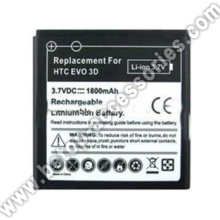 Battery For HTC EVO 3D