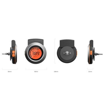 Thermomètre de cuisson intelligent Thermomètre à viande Bluetooth