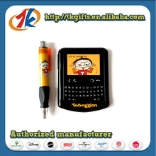 New Designed Kids Phone Shaped Notebook and Ballpoint Pen Toy
