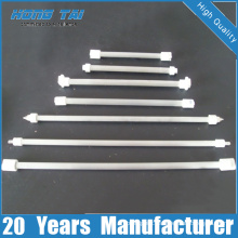 Thermal Insulator Clear Quartz Pipe