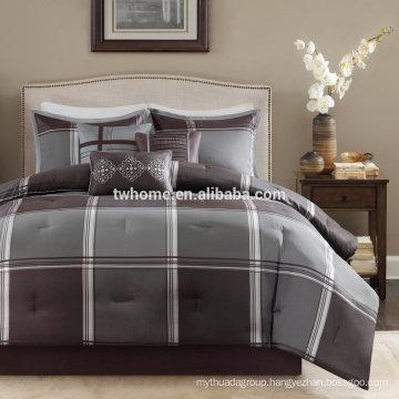 Madison Park Westdale Comforter Duvet Cover Jacquard Grey Bedding Set
