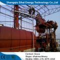 reciclagem de óleo de motor residual por unidade de destilação a vácuo