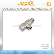 Small toilet nickel brushing angle valve cock for wash basin