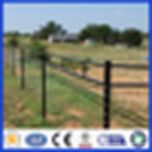 DM Hot Dipped Galvanized High quality horse corral fencing ( factory, ISO 9001 certificate )