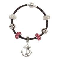 Bracelet d'amitié Bracelet en cuir marron Bracelet Fashioin Accessoires Bracelet