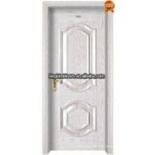 Top 1 ventas China acero madera Interior puerta residencial puerta interior rey-05