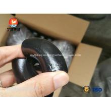 """ASTM A234 WPB LR Codo de 45 grados, 1 """"SCH40 BW B16.9, Pintura negra"""