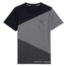 Factory OEM Men Round Neck T-Shirts Cotton Fashion T-Shirts