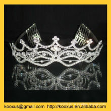 Coroa pageant personalizado