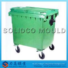 Qualidade agradável e design de injeção de plástico molde do escaninho de lixo