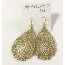Gold Lace Metal Earring Best Quality Wedding Jewellry
