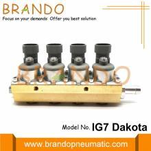 2 Ohm 4 Cylinder IG7 Dakota Rail Injector