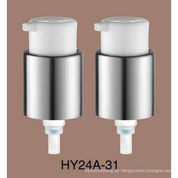 24mm Metall Lotion Pump Behandlung Creme Pumpe