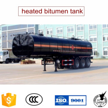 40tons aquecido equipamentos de asfalto betume tanque reboque para venda