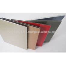 Aluminum composite panel variate color design for wall