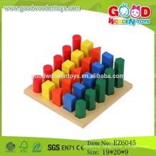 Hot Sale Popular Kids Ladder Toys,Geometric Wooden Ladder Toys,Educational Ladder Toys