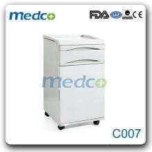 C007 ABS Bedside Hospital Cabinet