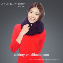 2015 100% Cashmere Wholesale ladys Knitted cashmere scarf