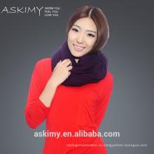 2015 100% Кашемир Оптовая дамы Вязаный шарф кашемира
