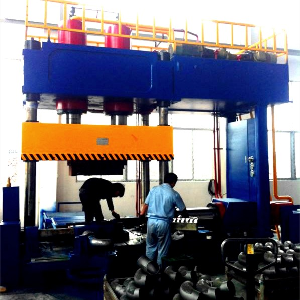 Hydraulic Cold Elbow Forming Machine