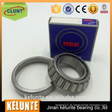 Rolamentos NSK LM48548 / LM48510 rolamentos de rolos cônicos de tamanho de polegada LM48548 / LM48510