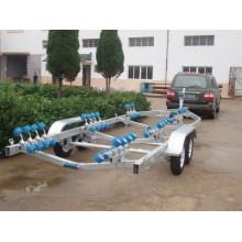 Bootstrailer für Bootslänge 3,3 m, 4,8 m, 5,5 m, 6 m, 7 m, 8,5 m.