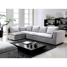 Silver Modern Simple Design Fabric Sofa for Living Room Furniture (L826)