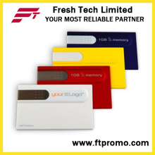 Credit Card Style USB Flash Drive for Custom (D605)