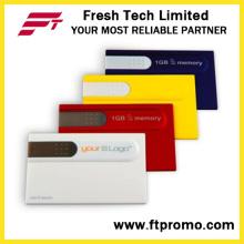 Cartão de crédito estilo USB Flash Drive para Custom (D605)