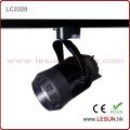 20W Black Commercial Lighting COB LED Track Light (LC2320)