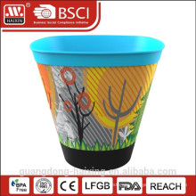 Hot Selling In-Mold labeling Plastic Flower Pot