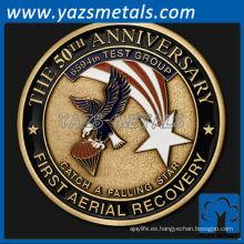 personalizar el aniversario de 50 años de metal - Primera recuperación aérea