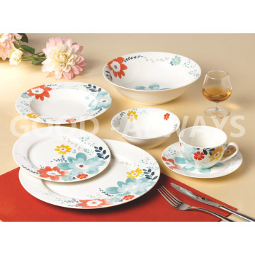 Nuovo set di posate per fiori in bone china