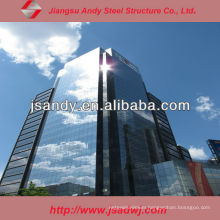 Prefabricated Structural Glass Curtain Wall Price for 2017
