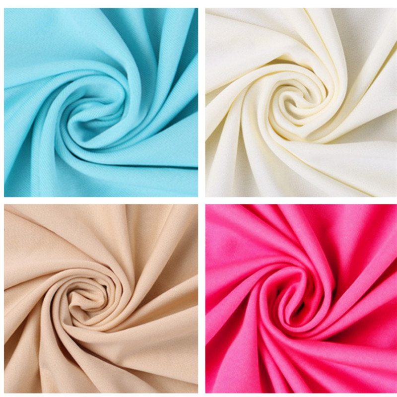 Breathable Fleece Smooth Milk Silk Stretch Brushed Fabrics