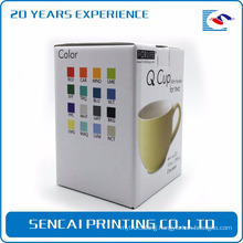 SenCai custom tea cup folding packing paper box
