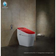Céramique toilettes bidet cuvette de toilette Intelligent upc contemporain hôtel salle de bains mexique toilettes