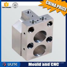 Kundenspezifische Leichtgewicht-Titan-Legierung Teile mit CNC-Fräsen und Drehen