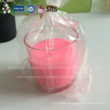 Christmas Decoration Supplies Type Glass Candle