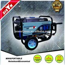 Aire refrigerado de larga duración 2kva 2000w 4 Stroke 6.5hp Cam Professional Generador de Gasolina Set