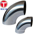 Seamless dan Welded Stainless steel Sanitary Elbow