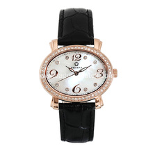 Quartz watch womens' watch stainless steel