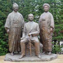 Bronze Japanese Sculptures BS013A