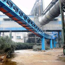 Long Distance Tubular Belt Conveyor / Pipe Conveyor for EPC