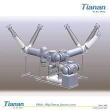 Gis-126kv Gasisolierte Schaltanlage (ZFW-126 / T2500-40)