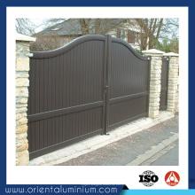 Melhores projetos de portão principal de alumínio com alta qualidade
