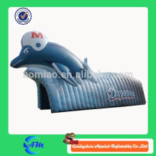 Túnel inflável inflável dos golfinhos do golfinho para venda
