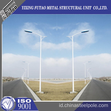 High Quality 9M Single Arm Street Lighting Poles