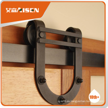 Con la fábrica de la garantía de la calidad directamente rueda de los rodillos de la puerta corredizas de acero de hardware de los muebles
